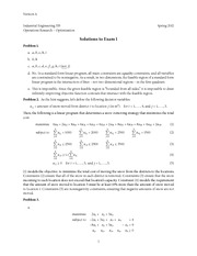 IE 335-Exam 1 Version A Sol