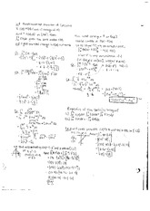 Fundamental Theorem of Calculus and Intergration by Parts Notes