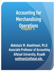 Chapter 5 Merchandising Operations.ppt