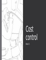 06 Cost Control.pptx