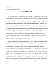 Abraham Lincoln Essay Paper  Pages A Civil Action Essay On Torts High School Essays also Learning English Essay Writing Civil Action  Aftab Khan Reaction Paper The Issue With A Civil  Thesis Essay Topics