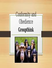 Conformity and Obedience.pptm