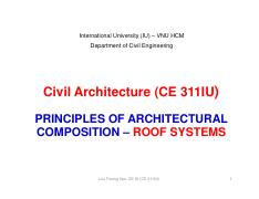14-Civil Architecture-Class 14-Principles of architectural composition-ROOF SYSTEMS [Compatibility M