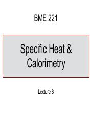 Lecture-8-Specific-Heat+Calorimetry