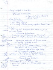 Class Notes Mixed Races