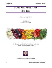 Physical-Lab 5 [DNA Extraction]- F & N-Bio111L.docx