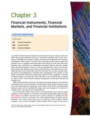 Money Banking and Financial Markets ch 3