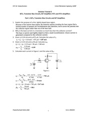Solution Tutorial 2 ENT162