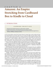 Chapter 6 Amazon An Empire Stretching from Cardboard Box to Kindle to Cloud