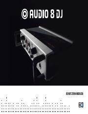 Audio 8 DJ Manual German