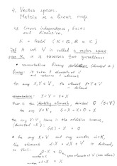 Lecture 4.1 Notes