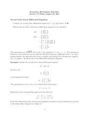 lecture15 - differential equations II