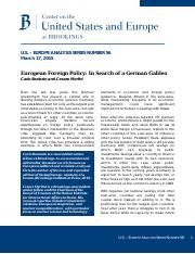 European Foreign Policy  In Search of a German Galileo.pdf