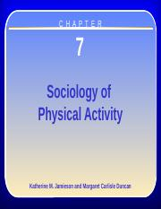 Chapter 7 - Sociology