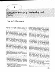 chi in igbo cosmology It is important at this juncture to briefly ponder the role of the igbo belief in chi vis- à-  achebe's own famous essay entitled 'chi in igbo cosmology' in this article.