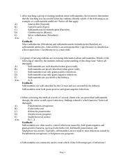 Chapter 6- Antibacterial Drugs-Sulfonamides