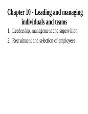 Chapter 10 - Leadership, recruitment and selection2.ppt