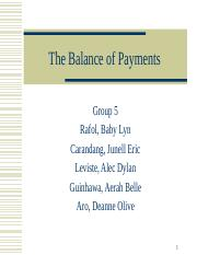 Group5-Balance-of-Payments