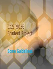 Tutorial #2 Project Guidelines
