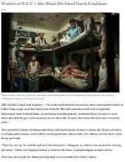 Workers+at+N.Y.U.'s+Abu+Dhabi+Site+Faced+Harsh+Conditions+-+NYTimes.com.pdf