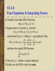 ch2.4 Exact Equations (1).ppt