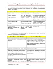 target corporation case study 19 Target corporation case solution, this case puts students in the role of cfo of target corporation, as he considers the advantages and disadvantages of a variety of.