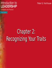 Ch.2 Recognizing Traits.ppt