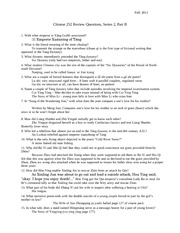 Review Questions 2b