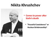 Chapter 29 - Nikita Khrushchev on Berlin