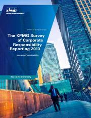 Week 2 - KPMG CR Reporting Global Survey 2013.pdf