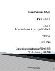Financial Account (财务会计学)_Lecture #2.pdf