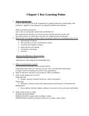 CIS3390_Chapter01_Key Learning Points (1)