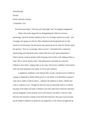 Sociological Imagination-post discussion paper