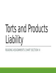 Torts and Products Liability.pptx