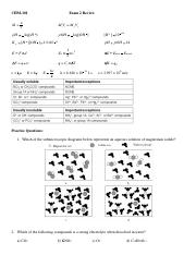 CHM-101 - Exam2_Review_F2013