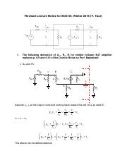 ECE 65 - Revised BJT Amp Lecture Notes