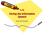 Writing+the+Informative+Speech