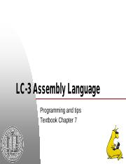 07_LC3_Assembly