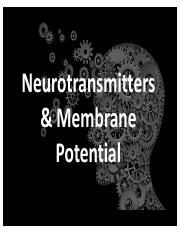 Understanding Neurotransmitters & Membrane Potential.pptx.pdf