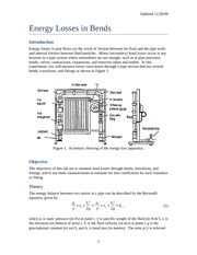Energy Losses in Bends