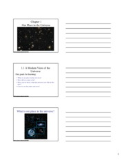 Slide Handouts Chapter 1