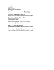 bibliography for american capital project