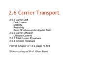 Chapter26_Carrier-Transport