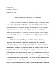 Immigration Final Paper
