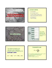 Lecture Feb 10 Soil Chemistry - Ion adsorption and exchange.pdf