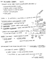 Notes on Gene Regulation and Prokaryotes