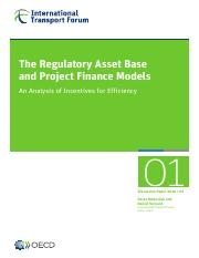 4. Regulatory Asset Base and Project Finance model (2016).pdf