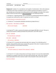 Spring15 ACT510-02 Quiz 02-18 CH5-Solution.docx