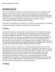 Sociology & the Law Research Paper Starter - eNotes.pdf