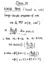 Tutorial 10 (notes and solution)